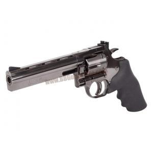 ปืนลูกโม่ 6 นิ้ว Dan Wesson 715 สีดำเงา อัดแก๊ส Co2 - ASG