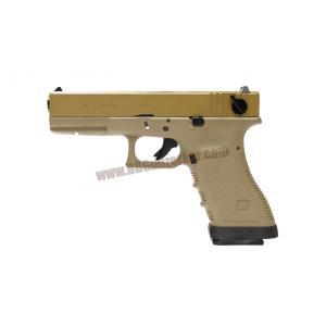 Glock18C Gen3 เฟรมทราย สไลด์ทราย ท่อดำ (Full Auto) - WE