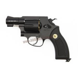 ปืนลูกโม่ 2 นิ้ว Smith&Wesson M36 สีดำ อัดแก๊ส Co2 - GunHeaven