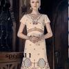 Brand Wila Wearable pieces of art เดรสกระโปรงแขนสั้น คอวี