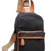 พร้อมส่ง!!! fashion กระเป๋าสะพายไหล่ รุ่น FB-8087 ( สีดำ )