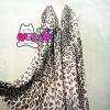 ผ้าพันคอ Pashmina พาสมีน่า ลายเสือดาว ชมพู PS1035