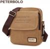 พร้อมส่ง!!! PETERBOLO กระเป๋าสะพาย รุ่น 1001 สีกากี สไตล์เกาหลี