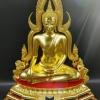 พระพุทธชินราชเนื้อทองเหลืองลงรักปิดทองฐาน 2 ชั้น ออกโดยวัดใหญ่ หรือวัดพระศรีมหาธาตุวรมหาวิหาร พิษณุโลก รหัส228