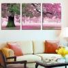 Art-ik ภาพติดผนัง ร่มรื่นต้นไม้ใหญ่สีชมพู
