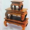 โต๊ะหมู่บูชา ไม้สัก ตัวกลาง