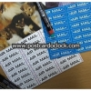 (6แผ่น/ชุด) Airmail Labels / ป้ายผนึกไปรษณีย์ทางอากาศ