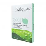 Ove' Clear Snail Solution Collagen Essence Mask โอเว่เคลียร์ มาส์กหอยทาก ใช้แล้วเด้ง เห็นผลทันใจ