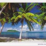 โปสการ์ด อ่าวในวก เกาะพะงัน จังหวัดสุราษฎร์ธานี /ทะเล/ชายหาด/อุทยานแห่งชาติ
