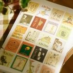 (4 แผ่น/ชุด) แสตมป์สติ๊กเกอร์ เจ้าชายน้อย Le Petit Prince Stamp Sticker Set (ใช้ตกแต่ง ไม่สามารถใช้แทนค่าฝากส่ง)