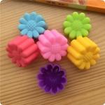 พิมพ์ซิลิโคน พิมพ์วุ้น พิมพ์สบู่ รูปดอกทานตะวัน 3 cm (12 ชิ้น)