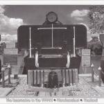 โปสการ์ด หัวรถจักรสมัยสงครามโลกครั้งที่สอง จังหวัดกาญจนบุรี /หัวรถจักร
