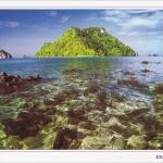 โปสการ์ด ชายทะเล จังหวัดกระบี่ /ทะเล/เกาะ