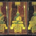 โปสการ์ด พระพุทธมหามณีรัตนปฏิมากรทรงเครื่องทรงทั้งสามฤดู กรุงเทพฯ /วัดพระแก้ว/พระแก้วมรกต/พระพุทธรูป