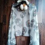 ผ้าพันคอ ชีฟรอง SF1088