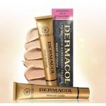 Dermacol make-up cover ครีมรองพื้นปกปิดคุณภาพสูง มาตรฐานยุโรป (EU) ปกปิด เรียบเนียน กันน้ำ กันแดด ใสๆ ไม่โบ๊ะ