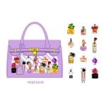 (72 ชิ้น/ชุด) สติ๊กเกอร์ Stickers Set in a Paper Bag (Perfume)