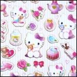 (1แผ่น/ชุด) สติ๊กเกอร์ Sanrio Smiles - Hello Kitty (b)