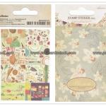 02STMTK-0001c (2 แผ่น/ชุด) แสตมป์สติ๊กเกอร์ Ancien Stamp Sticker ver.2 (C)