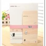 เซ็ทกระดาษเขียนจดหมายพร้อมซอง (6แผ่น+3ซอง)