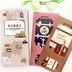 โปสการ์ด Travel Bag Postcard Set (โปสการ์ด 30ใบ ติดกับที่คั่นหนังสือ)