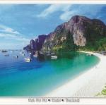 โปสการ์ด เกาะพีพี จังหวัดกระบี่ /ทะเล/ชายหาด/อุทยานแห่งชาติ