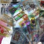 (10แผ่น/ชุด) สติ๊กเกอร์ใส เลียนแบบตราประทับ/ดวงตราไปรษณีย์ Decoholic Postmark/Stamp Sticker Set (ใช้ตกแต่ง ไม่สามารถใช้แทนค่าฝากส่ง)
