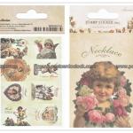 02STMTK-0001b (2 แผ่น/ชุด) แสตมป์สติ๊กเกอร์ Ancien Stamp Sticker ver.2 (B)