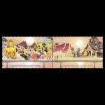 แสตมป์ชุดครบรอบ 20 ปี สะพานมิตรภาพไทย-ลาว (ราคาหน้าดวง 3 บาท จำนวน 2 ดวง)