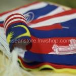 ธงราวกลุ่มประเทศอาเซียน ความยาว 4.70 เมตร