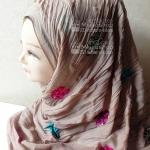 ผ้า ปักดอก HJ1145