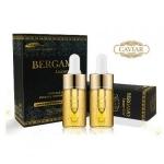 Bergamo Luxury Gold Intense Repair Ampoule 13ml เบอร์กาโม่สูตรทองคำแท้บริสุทธิ์ ผสมคอลลาเจน แพ็คคู่สุดคุ้ม