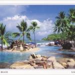 โปสการ์ด หาดเฉวงน้อย เกาะสมุย จังหวัดสุราษฎร์ธานี /ทะเล/ชายหาด