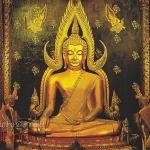 โปสการ์ด พระพุทธชินราช วัดพระศรีรัตนมหาธาตุ จังหวัดพิษณุโลก /พระพุทธรูป
