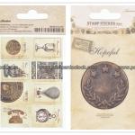 02STMTK-0001e (2 แผ่น/ชุด) แสตมป์สติ๊กเกอร์ Ancien Stamp Sticker ver.2 (E)