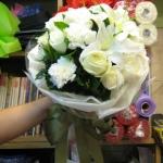 ช่อดอกไม้ วาเลนไทน์ 06