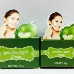 Belleza Spirulina Apple Cream เบลเลซ่า ครีมแอบเปิ้ลสาหร่าย