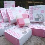 สบู่เทพฟอกผิวขาว Friends Pure Collagen Soap สูตร All in One