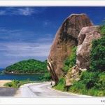 โปสการ์ด หินใหญ่ เกาะสมุย จังหวัดสุราษฎร์ธานี /ทะเล
