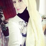 ผ้าฮิญาบ ผ้าคลุม อิสลาม ดอก มิยะ HJ1178