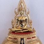 พระพุทธชินราชหน้าตัก5 นิ้วขัดมัน ฐาน1ชั้น พิมพ์เล็ก เหมาะสำหรับบูชาที่บ้าน และสำนักงาน รหัส0148