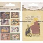 02STMTK-0001a (2 แผ่น/ชุด) แสตมป์สติ๊กเกอร์ Ancien Stamp Sticker ver.2 (A)