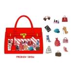 (72 ชิ้น/ชุด) สติ๊กเกอร์ Stickers Set in a Paper Bag (Fashion Show)