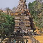 โปสการ์ด ปราสาทหินพนมรุ้ง จังหวัดบุรีรัมย์ /อุทยานประวัติศาสตร์/โบราณสถานสำหรับชาติ