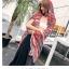 ผ้าพันคอ วิสคอส viscose สไตล์ ยิปซี VC01043 thumbnail 1