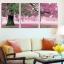 Art-ik ภาพติดผนัง ร่มรื่นต้นไม้ใหญ่สีชมพู thumbnail 1