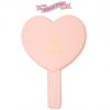 LOVE 3CE HEART HAND MIRROR [PEACH PINK] สีชมพูอ่อน
