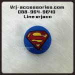 ลูกบอลเสียบเสาอากาศ ลายซุปเปอร์แมน สีน้ำเงิน : Antenna topper - Superman