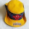 หมวก ทรง คาวบอย ลาย Spiderman สีเหลือง size : 2-4y