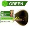 ครีมเปลี่ยนสีผม ดีแคช มาสเตอร์ แมส คัลเลอร์ครีม Dcash Master Mass Color Cream HB 908 บลอนด์กลางประกายเขียว ( Matte Blonde) 50 ml.